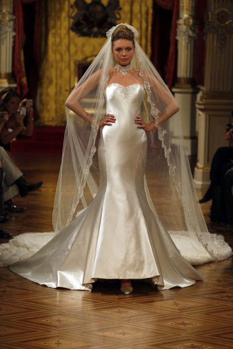 Haute Couture wedding gown