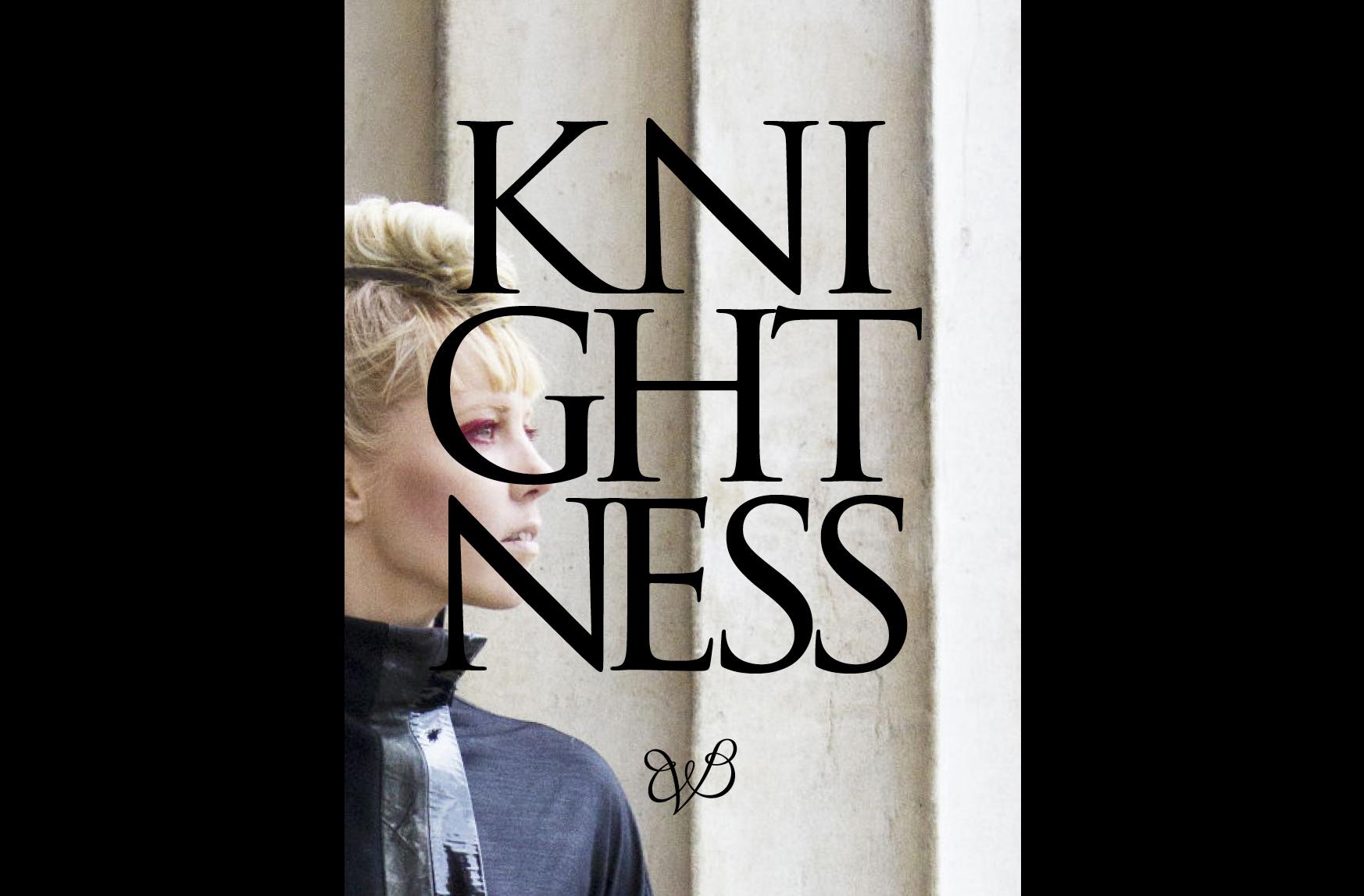 Knightness by Britta von Basedow cover
